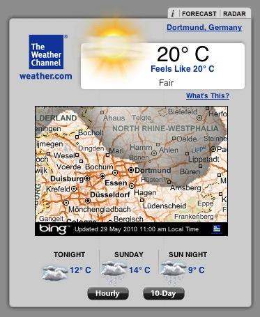 weather-channel-widget